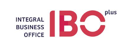 Logotipo de nuestra empresa IBO, integral business office